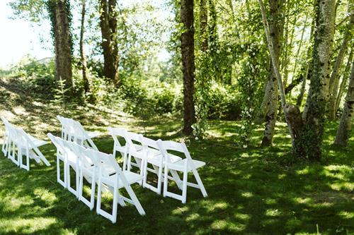 Wedding Ceremony Location at Moon River Suites