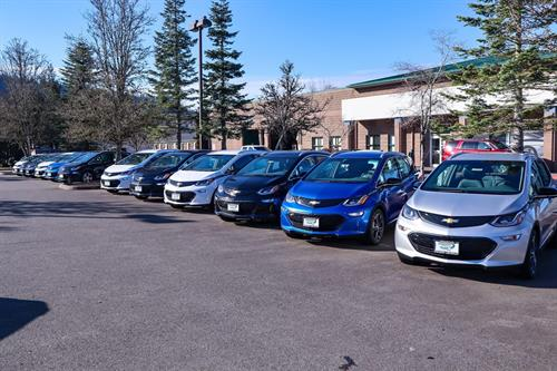 Evergreen Chevrolet with the all electric Chevrolet Bolts