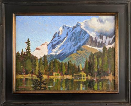 """""""Austrian Alps"""" was juried into the American Impressionist Society online show!"""