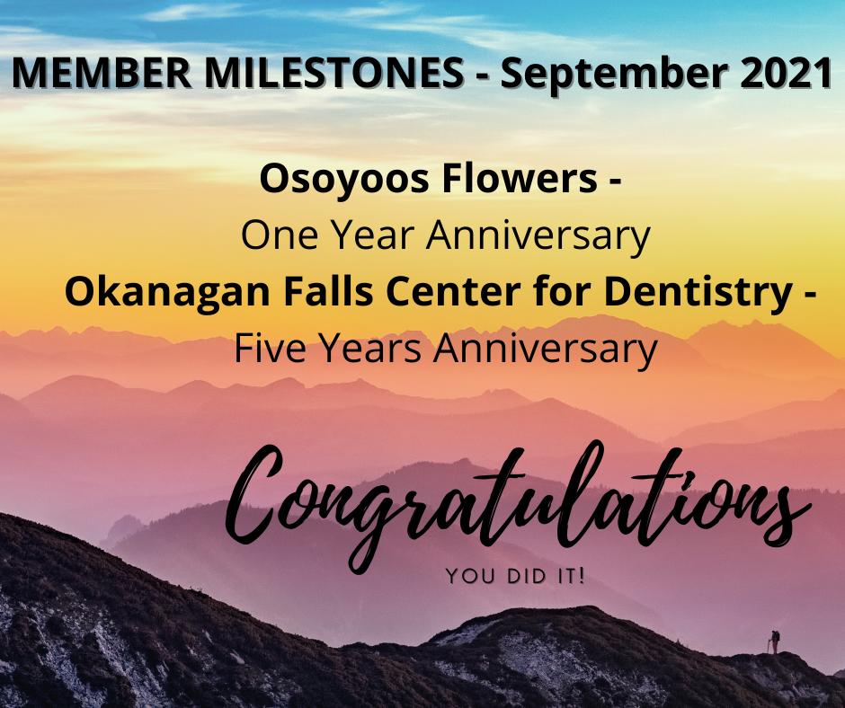 Member Milestones