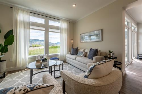 Oliver Heights - Show Home Living Room