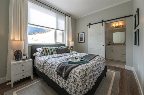 Oliver Heights - Show Home Master Bedroom