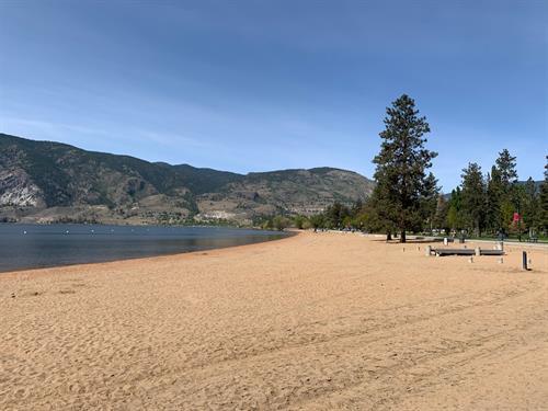 The Beach at Skaha Lake