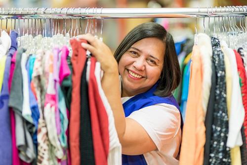 Thrift Store Volunteer