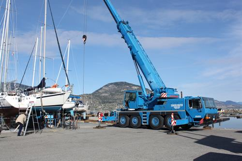 Penticton Yacht Club & Marina - Boat launch program..