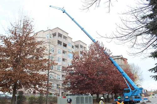 Penticton, BC - Working with Southern Mechanical at Cherry Lane Apts
