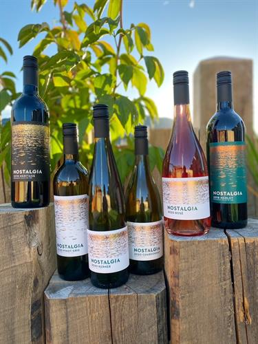 A selection of Nostalgia Wines