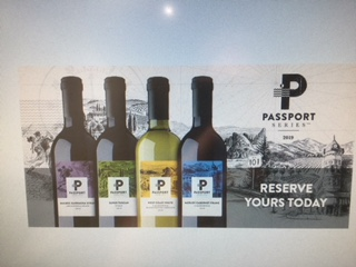 Limited Edition Passport Wine  Reserve yours now!