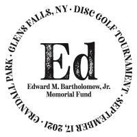 Disc Golf Tournament Benefitted the New Edward M. Bartholomew, Jr. Memorial Fund
