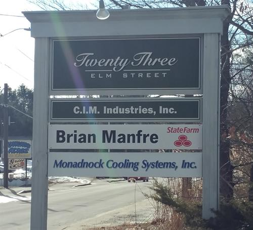 New Sign at our New Location in Peterborough!