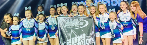 Competitive All Star Cheerleading Teams