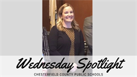 News Release: 3/11/2020 Wednesday Spotlight: Greenfield Elementary Principal Melissa Reams wins Chesterfield's 2019 R.E.B. Award for Distinguished Leadership