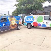 Vans will help connect with students and families where they are