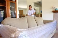 Stretchwraping a Sofa