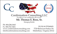 Confirmation Consulting Client Business Card