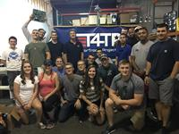 Army Officers (training class from Ft. Lee) volunteering at Tech For Troops