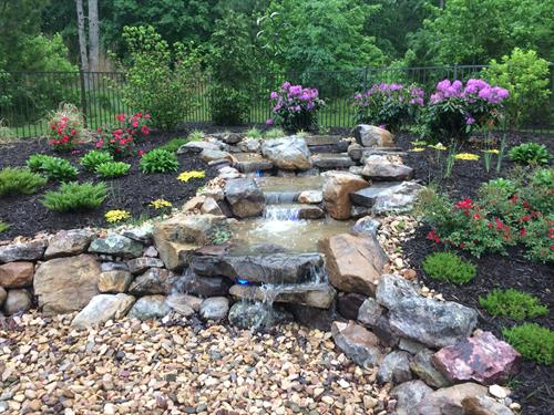 Pondless Waterfall, Magnolia Green, Chesterfield, VA