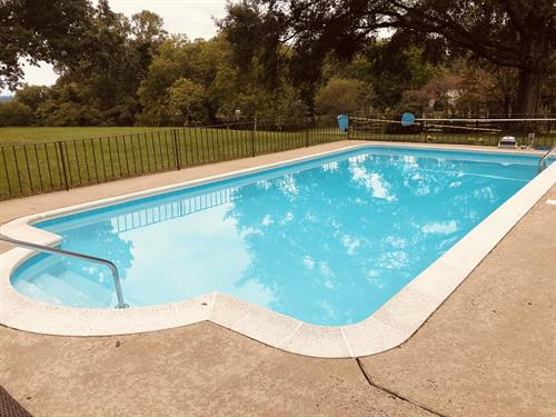 Refinished Gunite Pool, Orange, VA