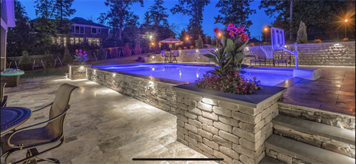 Contemporary Pool, Hallsley, Midlothian, VA