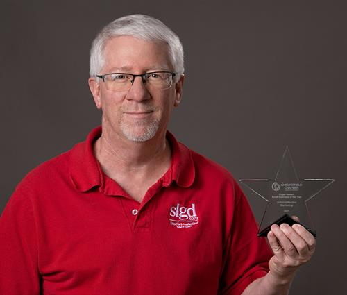 SLGD awarded the Roger Hebeck Small Business of the Year 2021