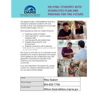 News Release: Helping Students with Disabilities Plan and Prepare for the Future