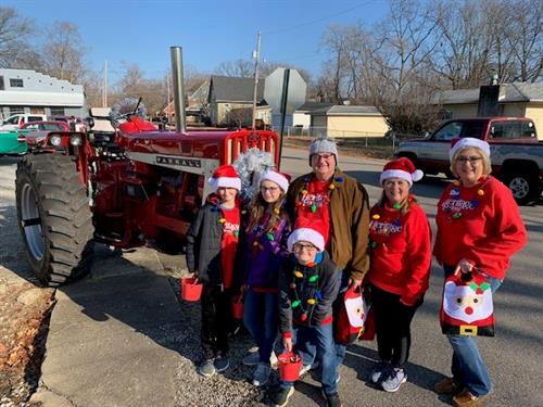 2019 Christmas Parade in New Harmony