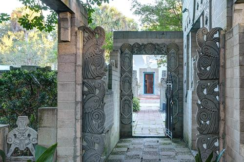 Mayan Chapel & Courtyard entrance