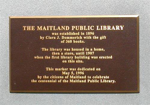 Library marker
