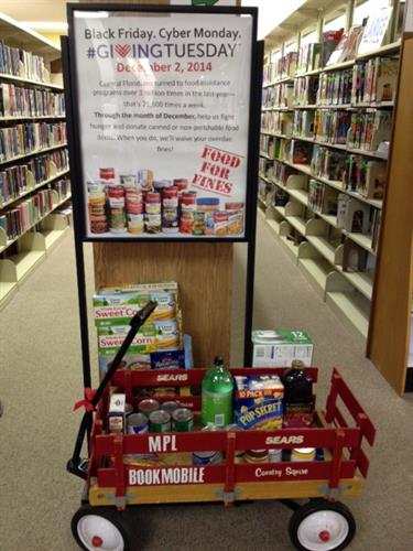 2014 Giving Tuesday - Food for Fines program
