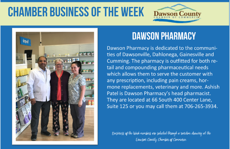 Chamber Business of the Week - Dawson Pharmacy