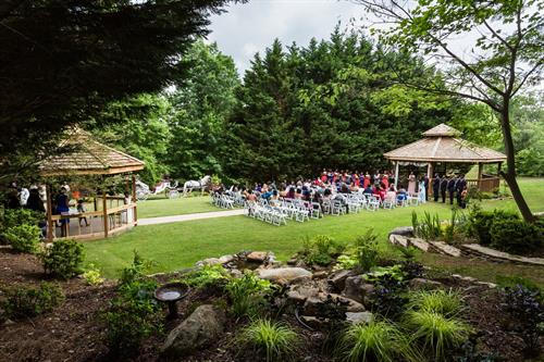 Wedding Garden & Horse Drawn Carriage