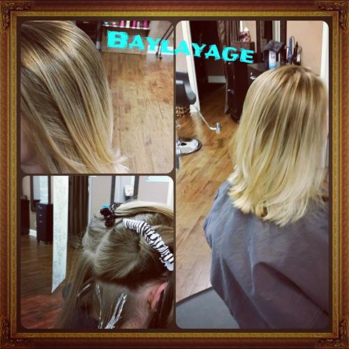 Balayage and Haircut