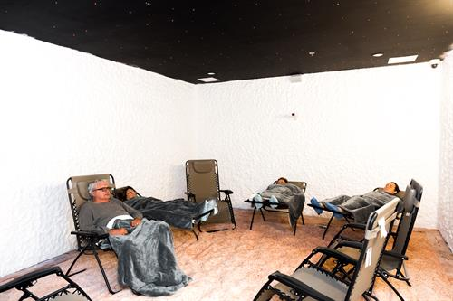 Our Adult Relaxation Room for Salt Therapy