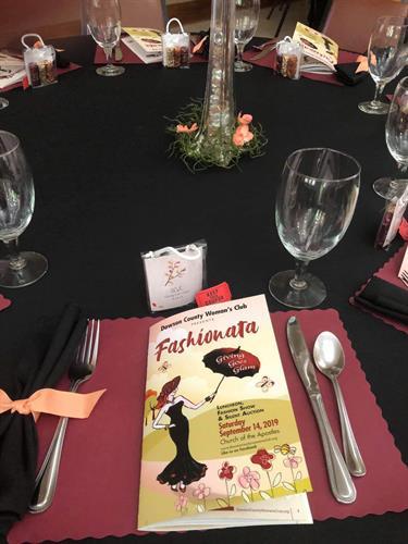 Dawson County Womens Club Fashionata Fundraiser - Designed & Printed Booklet