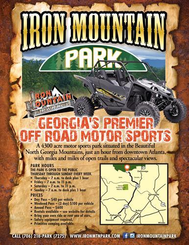 Iron Mountain Face Book Page & Flyer Design