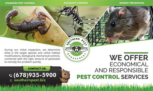 Licensed Pest Control - https://southernpest.net