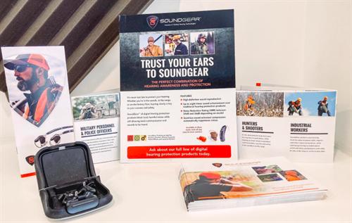 We carry Soundgear custom ear protection too!