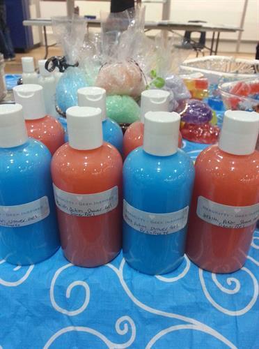 Health & Mana Potion Shower Gels