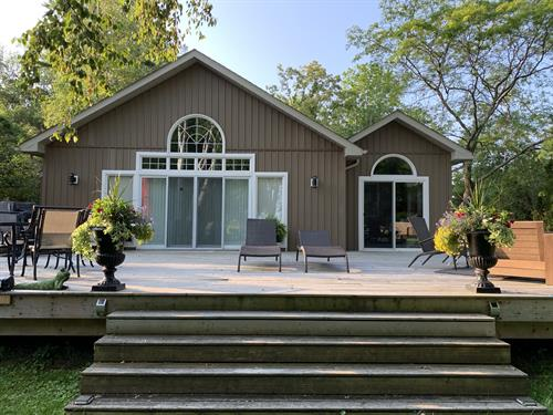 New Custom Cottage built on Welters Bay