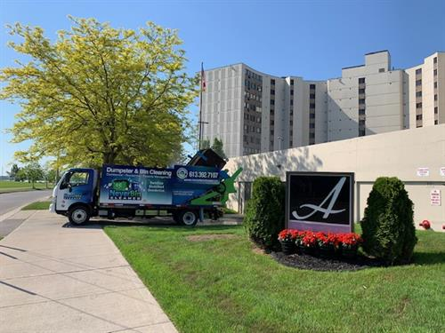 NeverBinCleaner Services Condo's and Apartment buildings right on site