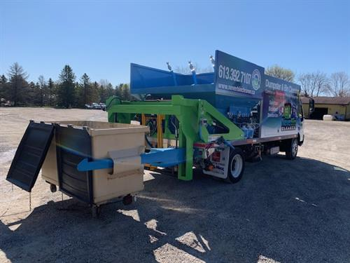 Commericial Dumpster Cleaning, Sanitzing and Deodorizing