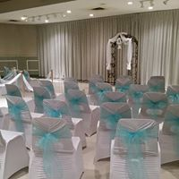 ceremony and reception in our large hall