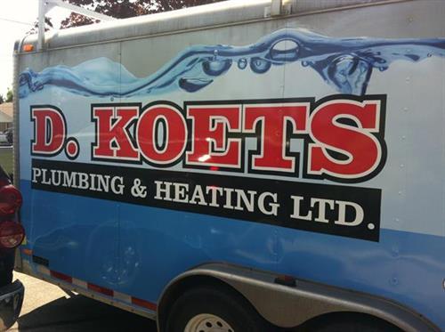 Koets Plumbing trailer