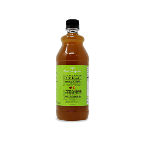 Raw Unfiltered Apple Cider Vinegar with Manuka Honey - New Zealand