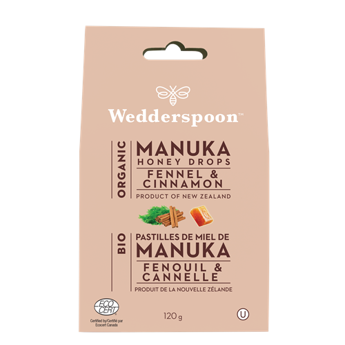 Manuka Honey Drops - Fennel & Cinnamon - New Zealand