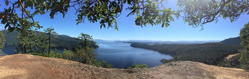 Beautiful views from Stoney Hill lookout