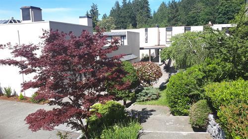 View to annex, dorm