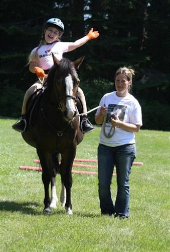 Equine-based therapies build confidence and self-esteem - in addition to being great fun!
