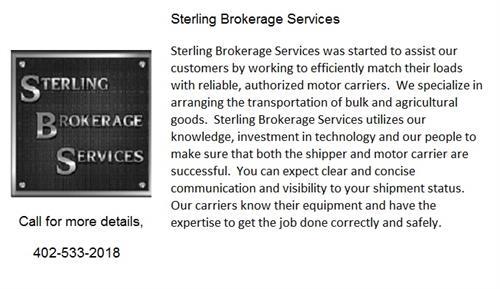 Sterling Brokerage Services
