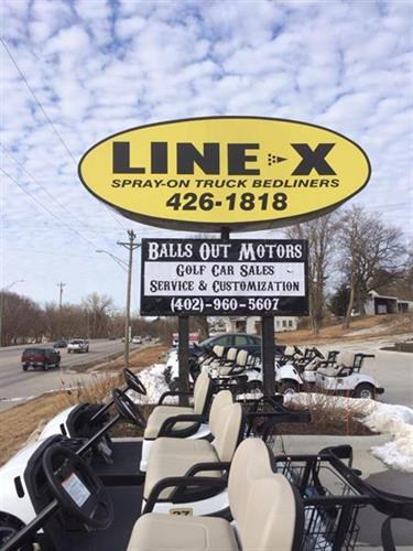 Gallery Image Balls_Out_and_LineX_sign.jpg
